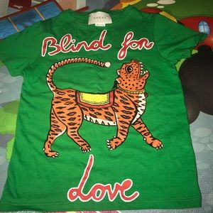 0ad029023c7 Gucci Shirts   Tops - 100% Authentic Children s Gucci T Shirt